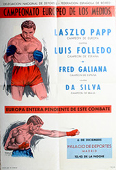 Papp - Folledo(spanyol), Madrid -1963. december 6.